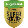 Angie's List Super Service Award Services for Contractors, Chimney Caps, Chimney Repair, Gutter Repair, Roof Snow Removal, Roofing, Siding, Skylights, Replacement Windows