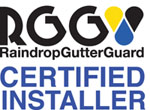 W. Brothers Roofing is a Certified Raindrop® Gutter Guard Installer